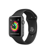 Apple Watch Series 2 38 мм Space Gray with Black Sport Band MP0D2