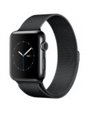 Apple Watch Series 2, 42 мм, Space Black  with Milanese Loop  MNQ12