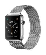 Apple Watch Series 2, 42 мм, Sainless Steel  with Milanese Loop  MNPU2