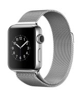 Apple Watch Series 2, 38 мм, Sainless Steel  with Milanese Loop  MNP62