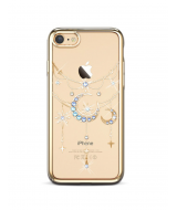 Чехол-накладка с Swarovski Kingxbar Twinkling stars для iPhone 8/7 Blue moon Gold, Kingxbar