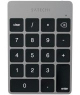 Номерная клавиатура Satechi slim rechargeable aluminum bluetooth keypad Space Gray