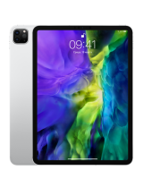 "Apple iPad Pro (2020) 11"" Wi-Fi + Cellular 256 ГБ, серебристый (MXE52RU/A)"